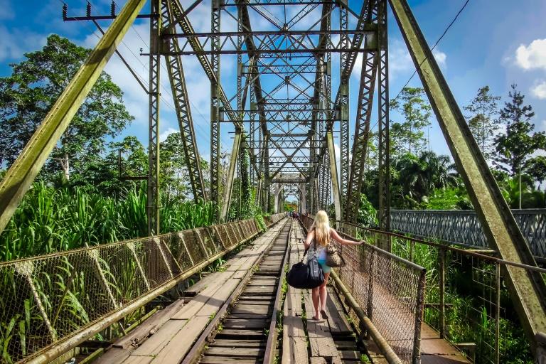 Grenzübergang zwischen Panama und Costa Rica