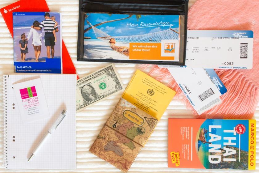 Handgepäck-Packliste