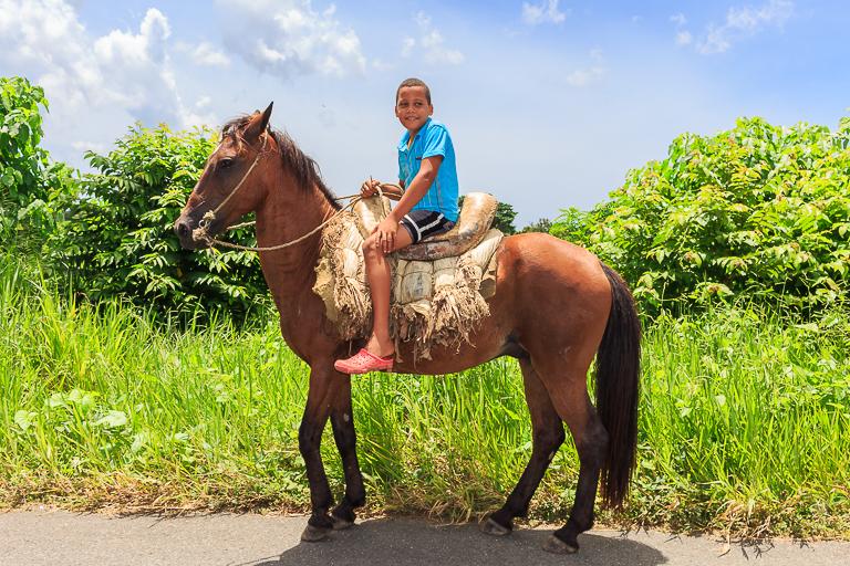 Entdeckungstour rund um Punta Cana | Einheimisches Kind