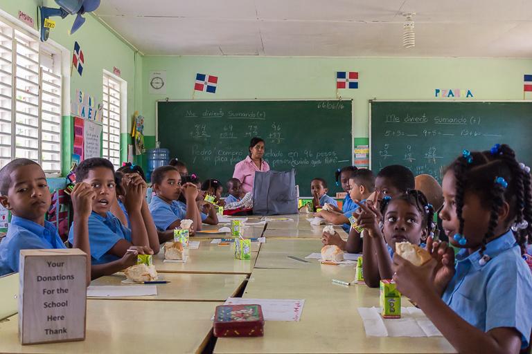 Entdeckungstour rund um Punta Cana | Grundschule - Klassenzimmer