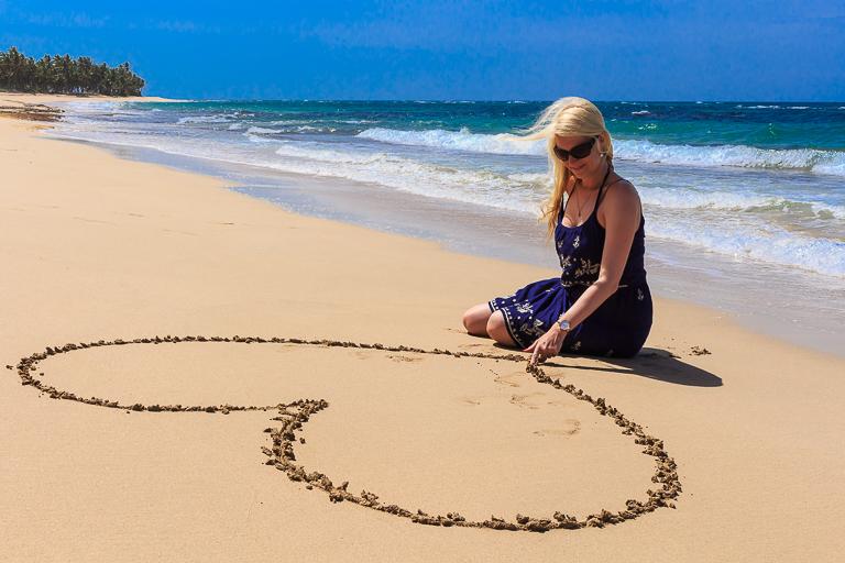 Entdeckungstour rund um Punta Cana | La Vacama - Herz im Sand malen