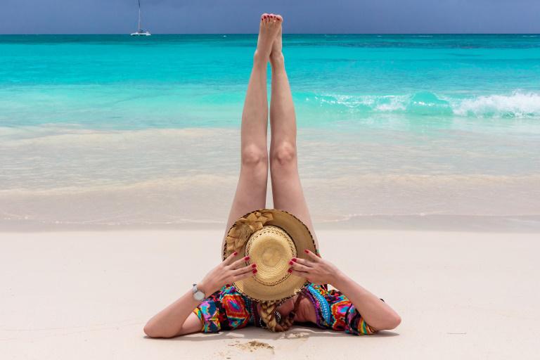 Saona Ausflug | Posen am Strand