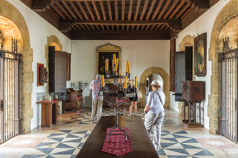 Santo Domingo Ausflug | Alcazar de Colon - Ausstellungsraum