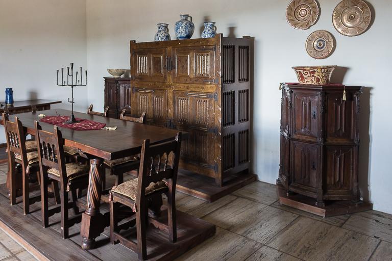 Santo Domingo Ausflug | Alcazar de Colon - Koloniales Zimmer