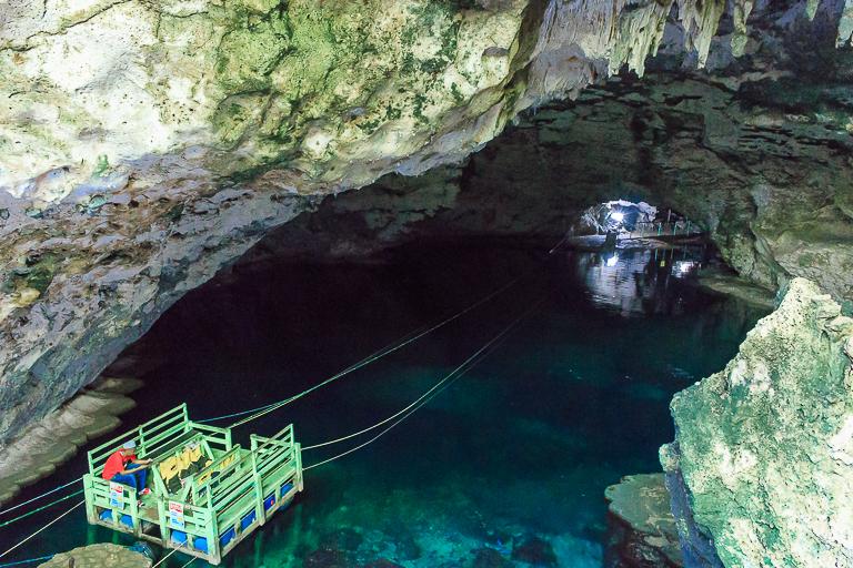 Santo Domingo Ausflug | Los Tres Ojos - Flußfahrt