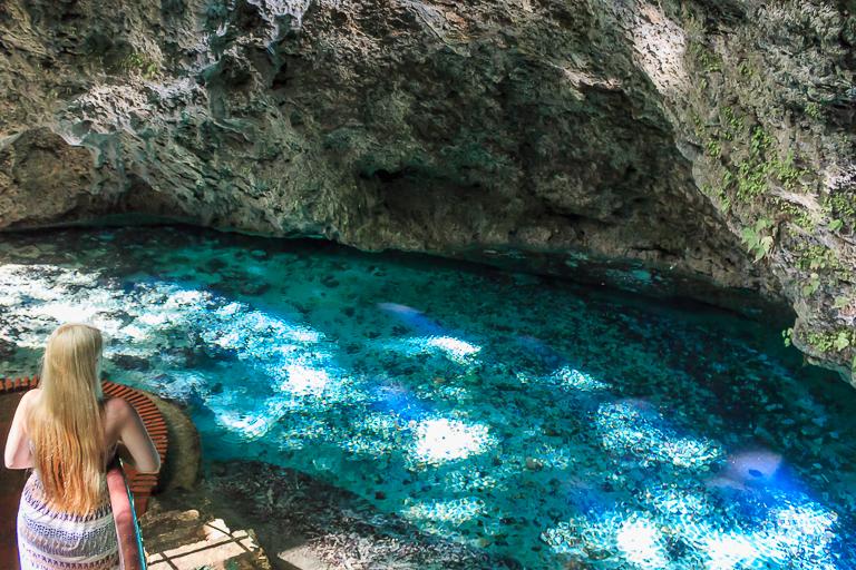 Santo Domingo Ausflug | Los Tres Ojos - See