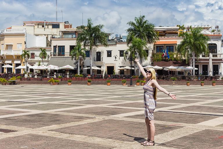 Santo Domingo Ausflug | Plaza de Espana - Fotoshooting