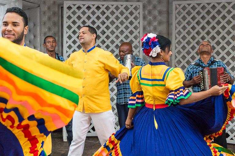 Santo Domingo Ausflug | Restaurante Atarazana - Einheimische Tänze
