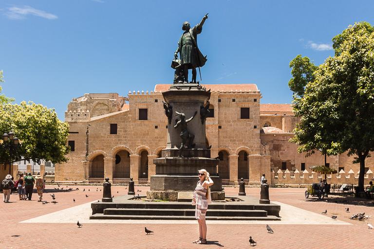 Santo Domingo Ausflug | Statue von Christoph Kolumbus
