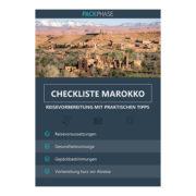 Reisecheckliste | KOFFERBOX MAROKKO